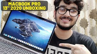 """Windows User Shifting To MAC   MACBOOK PRO 2020 13"""" Indian Variant with Magic Keyboard Unboxing 😍"""