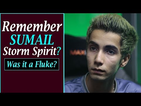 The MYSTERIOUS Tale of Sumail's Legendary Storm Spirit Moment