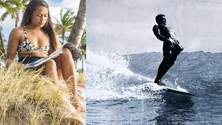 Surfer/Photographer Ha'a Keaulana on the Lessons of her Grandfather, Hawaiian Icon Buffalo Keaulana