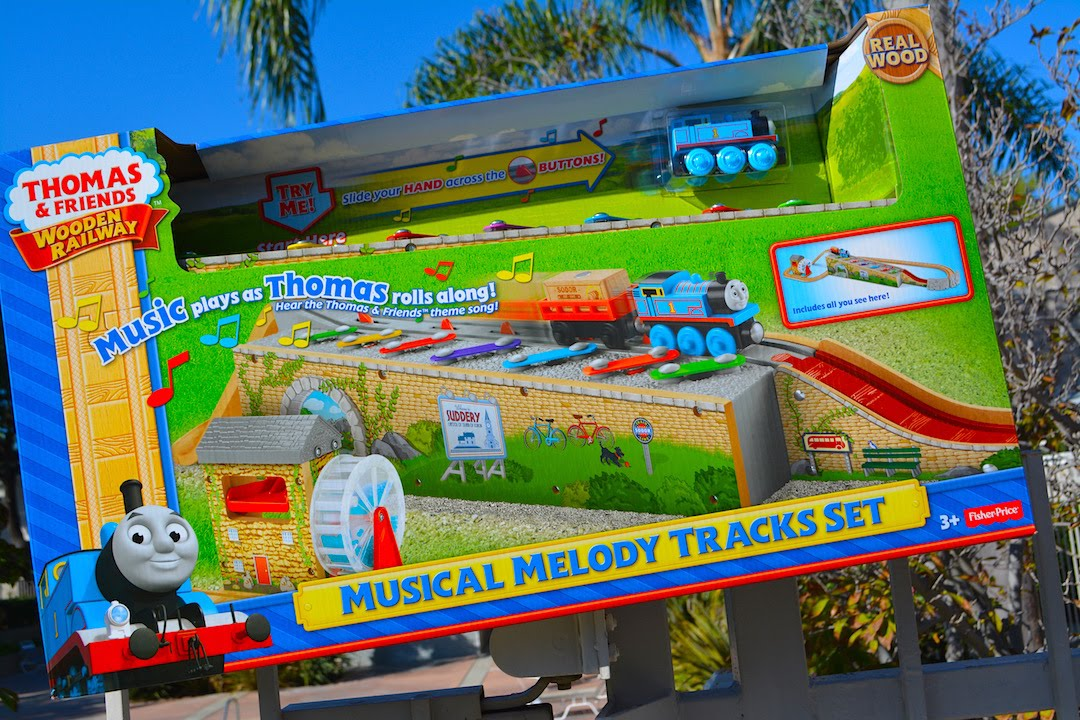 Musical Melody Tracks Set 2015 Thomas And Friends Wooden Railway Toy Train Set Review