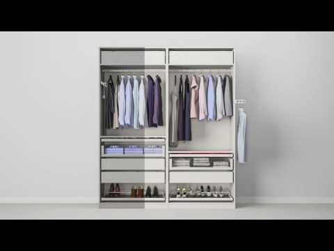 Ikea Guardaroba Pax Komplement Sistema Componibile.Ikea Pax Komplement Youtube