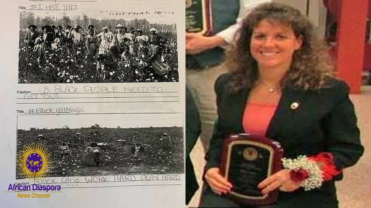 Jr High Teacher Suspended After Asking Students To Write Funny Captions Under Photos Of Black Slaves