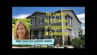 New Homes in Centennial Colorado - Cypress Model by KB Home at Copperleaf (paired homes)