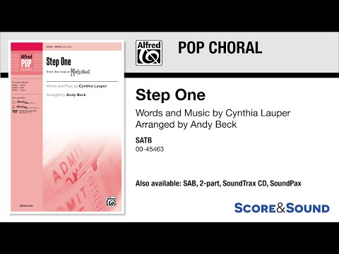 Step One, arr. Andy Beck – Score & Sound