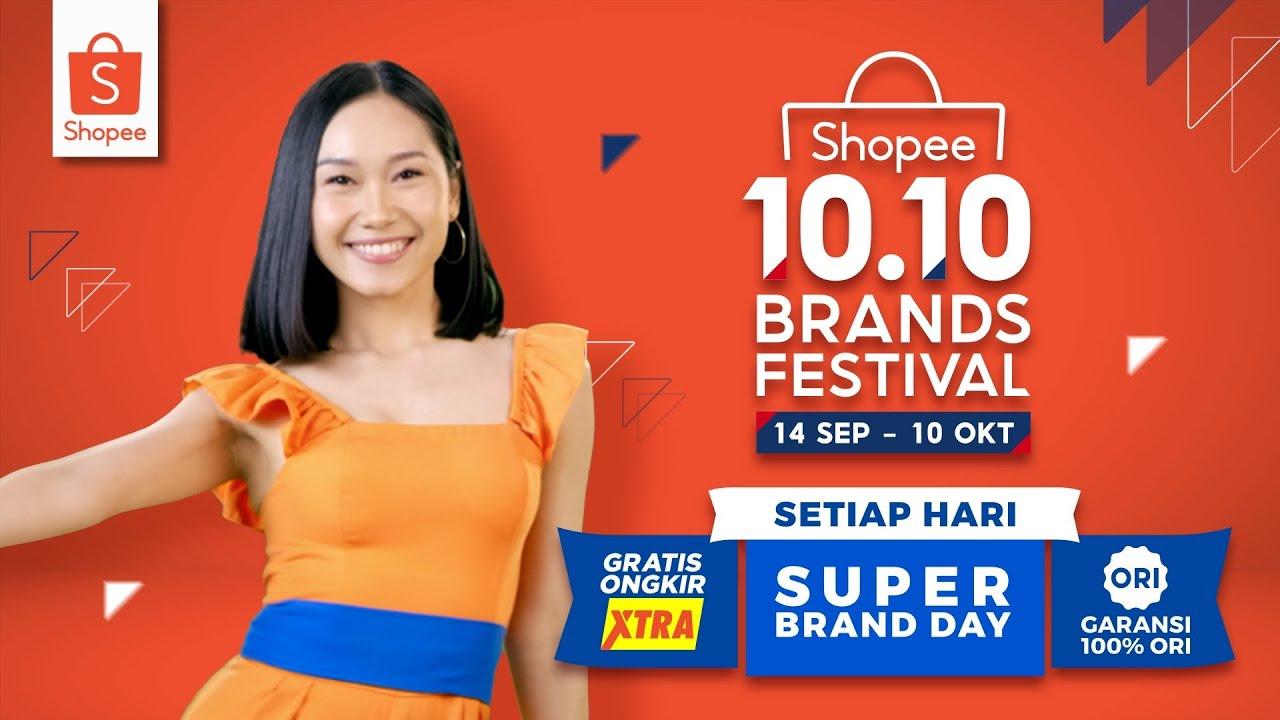Ayo, Belanja Produk Favoritmu di Shopee 10.10 Brands Festival!