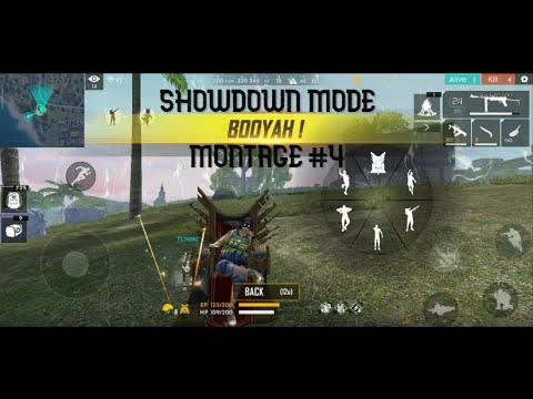 SHOWDOWN Mode BOOYAH Montage #4 - Garena Freefire