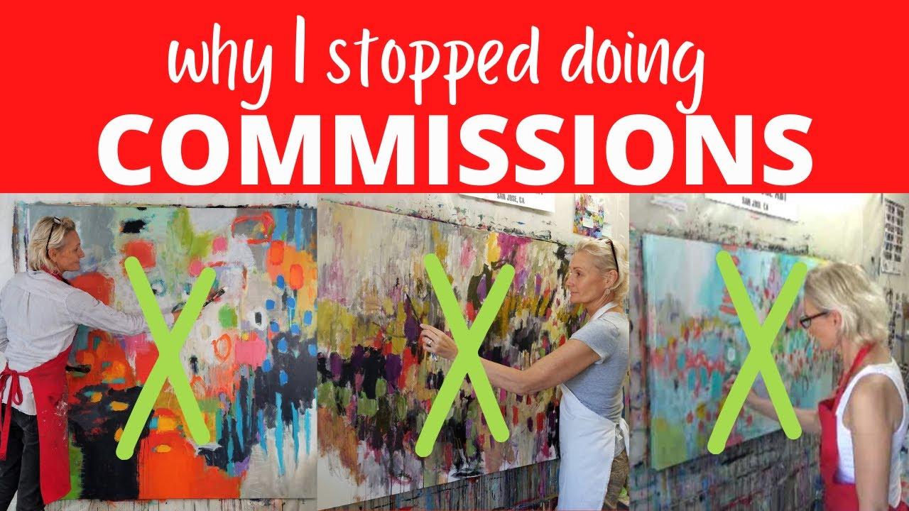 What I learned doing commissioned artwork | Betty Franks Art | Art Business