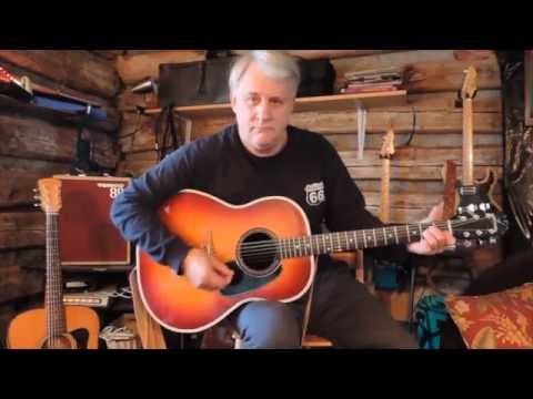 Guitar review, vintage acoustic,