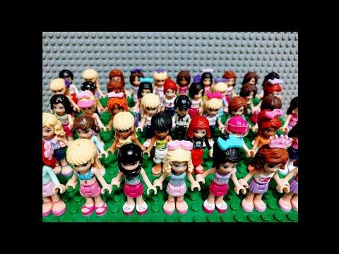 LEGO FRIENDS MINIFIGURES FASHION SHOW - YouTube