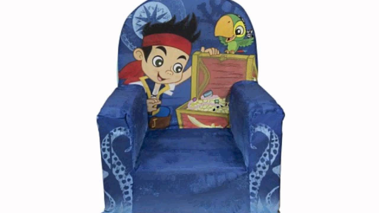 Delicieux Marshmallow High Back Chair With Jake And Neverland Pirates Theme (Toy)    YouTube
