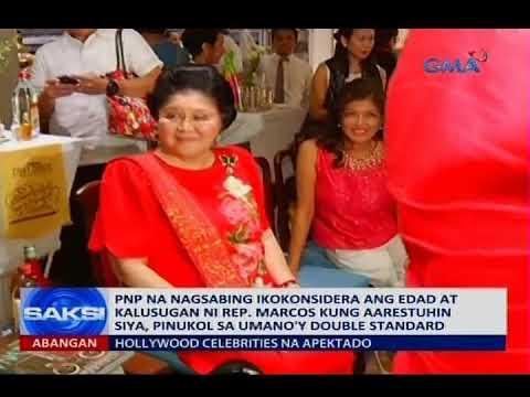 Saksi: PNP, pinukol sa umano'y double standard sa kaso ni Rep. Imelda Marcos