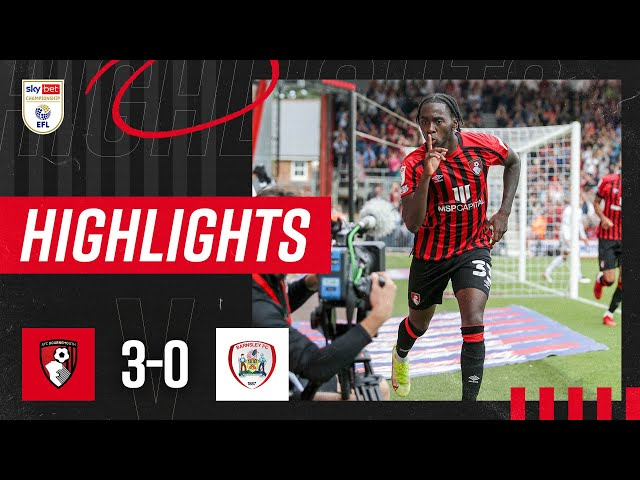 Zemura brace sinks Barnsley ⚡️ | AFC Bournemouth 3-0 Barnsley