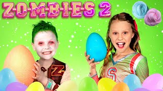 Disney ZOMBIES 2 Zed and Addison Zombie Fun! Pretend Play