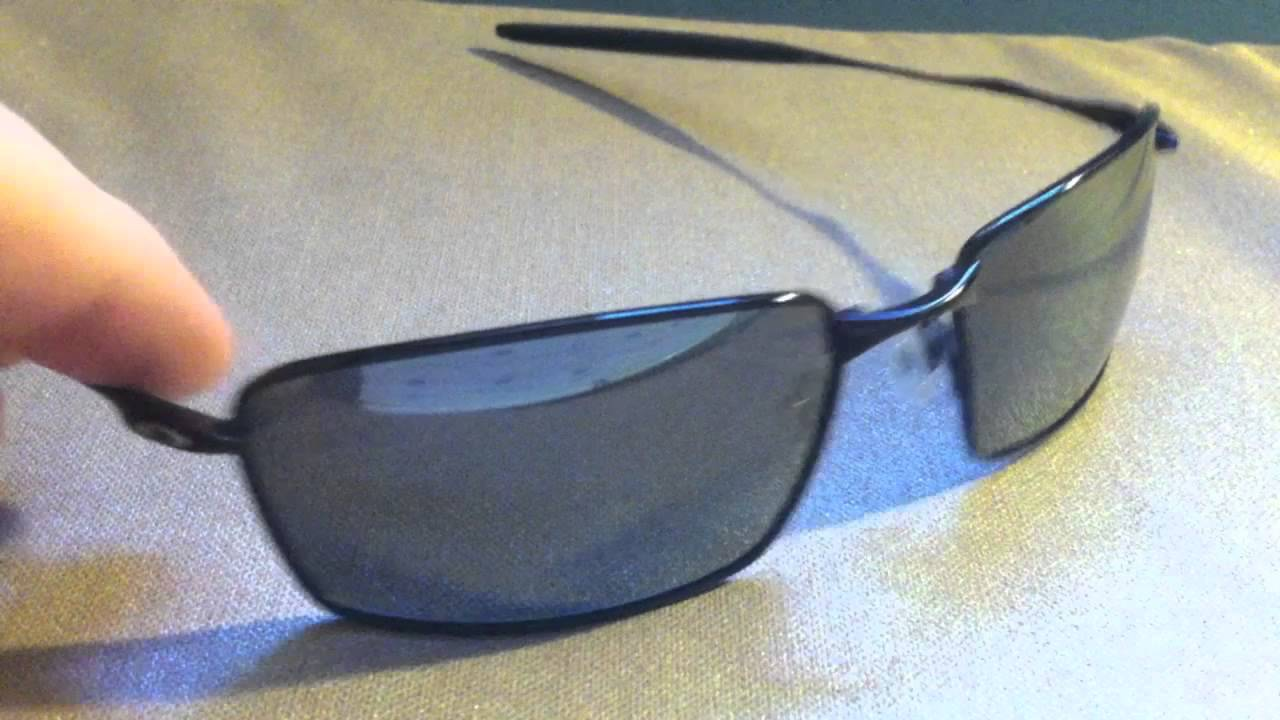 c6d0526047c Review  Oakley Square Whisker Polarized - YouTube