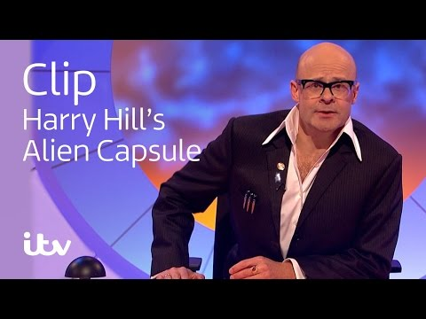 Harry Hill's Alien Fun Capsule | Coventry Market | ITV