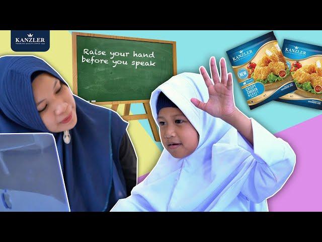 Morning Routine Hana Sekolah & Bekal Istimewa Ft Chicken Nugget Crispy Super Kriuk Dari Kanzler