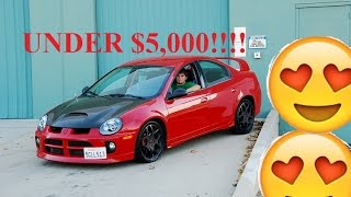 TOP 5 BEAST CARS FOR UNDER $5K!!