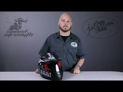 Speed and Strength SS1100 Urge Overkill Graphic Helmet Review at Jafrum.com