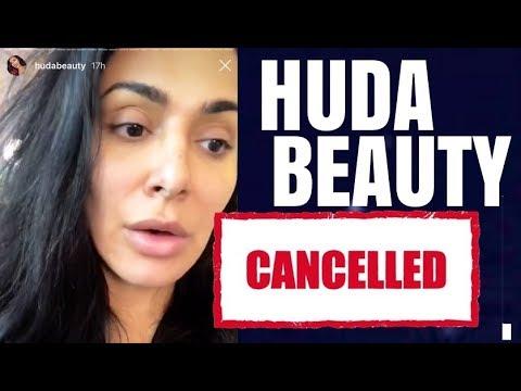 HUDA BEAUTY IS CANCELED
