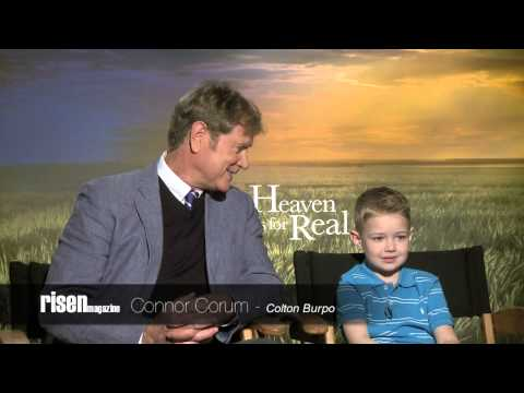 Heaven is for Real: Randall Wallace & Connor Corum