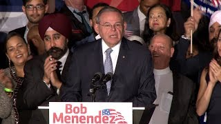 Menendez defeats GOP rival Hugin in U.S. Senate race