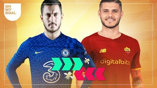 The incredible rumor about Hazard, Mourinho wants Icardi   Let's Talk Transfers