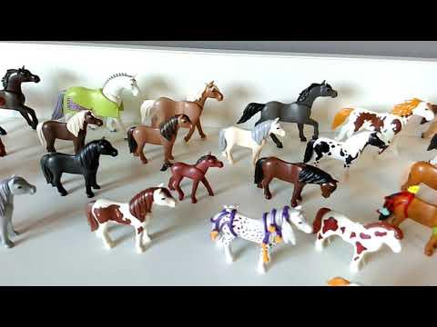 LGLH- Playmobil horses