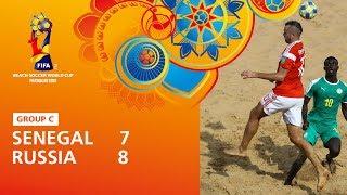 Senegal v Russia Highlights FIFA Beach Soccer World Cup Paraguay 2019