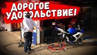 С ЧЕГО НАЧИНАЕТСЯ МОТОСЕЗОН I спортбайк Suzuki GSXR