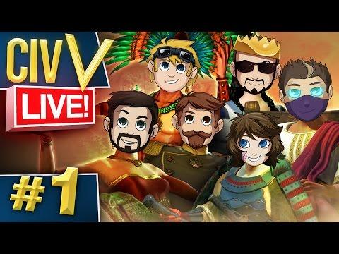 Civ V: Live #1 - SmoothSkins