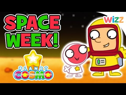 Planet Cosmo - It's Space Week   Crater Racing