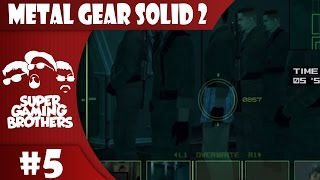 SGB Play: Metal Gear Solid 2 - Part 5 | Where Are My Pants?!
