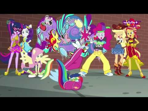 ¨MLP: Equestria Girls¨ Hay Magia Aquí (Dance Magic Song) Español Latino
