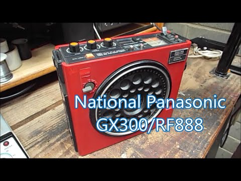 National Panasonic GX300 (RF888)