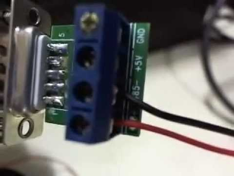 USB Communication with RS485 Device - YouTube on rs485 wiring spec, rs485 wiring standard, rs485 ptz wiring,