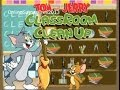 Tom and Jerry Games - Classroom Clean Up Game