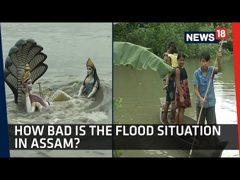 Assam Floods   Death Toll Rises as Incessant Rains Cause Floods