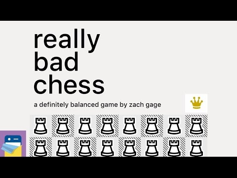Really Bad Chess: iOS iPhone 6S Gameplay (by Zach Gage)