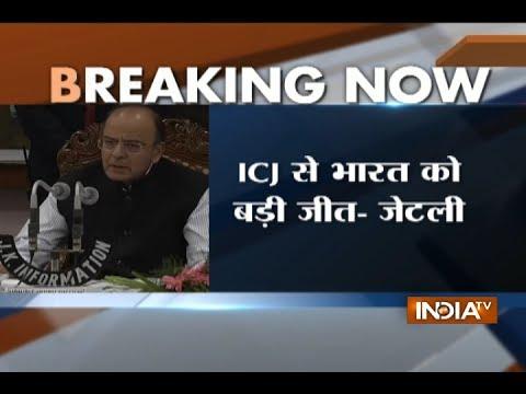 Kulbhushan Jadhav Case: Arun Jaitley slams Pak for denying to accept ICJ verdict