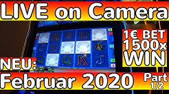 🔥🎰🔥 Spielothek Vollauszahlung Dolphin's Pearl Slot 2020 Amazing BONUS Win LIVE!