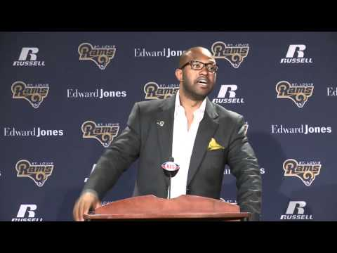Torry Holt Press Conference