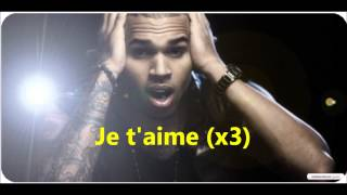 Traduction ~ Chris Brown - I love you