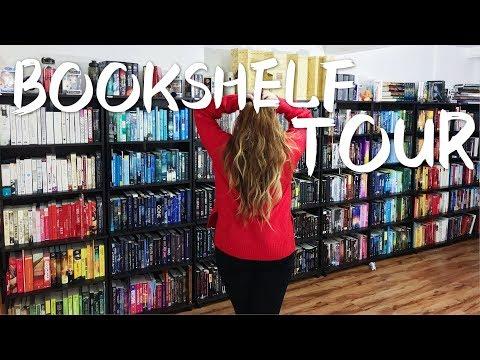 BOOKSHELF TOUR | +980 BOOKS | Crónicas de una Merodeadora
