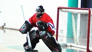 Ball Hockey Saves Street Hockey Saves - Rick Baker - Best Ball Hockey Goalies Best Ball Hockey Saves