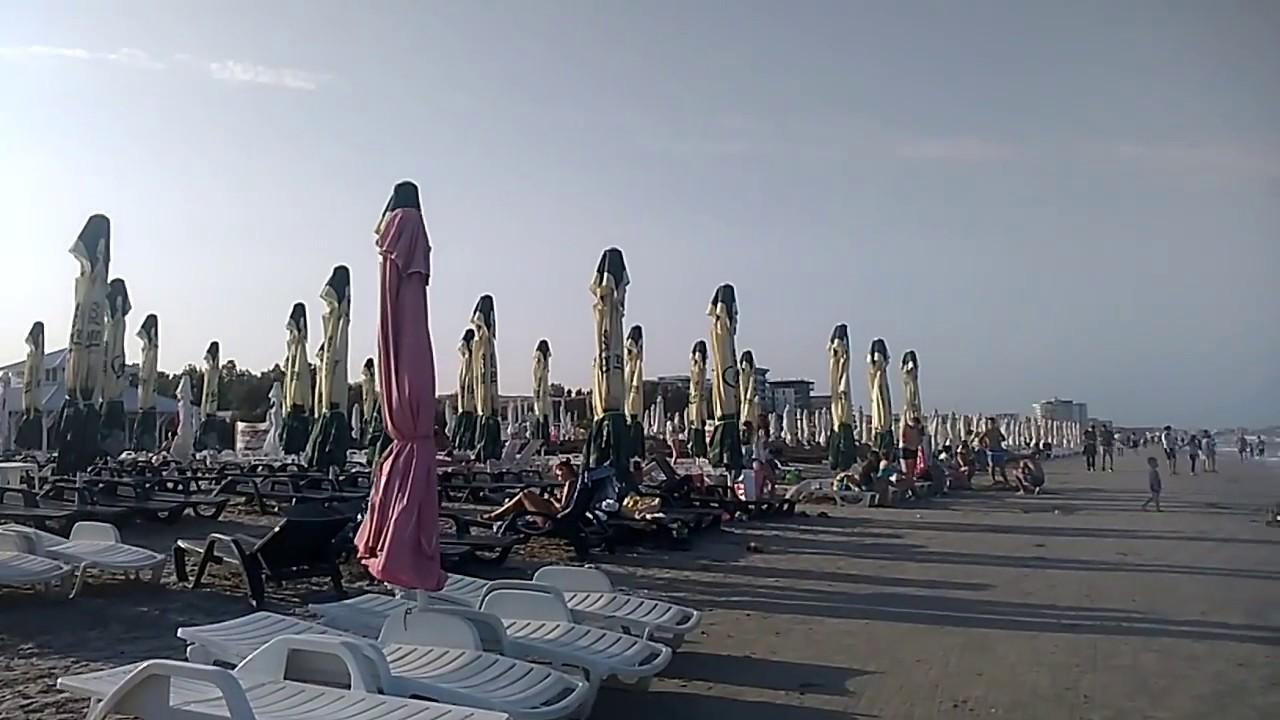 Румыния. Пляжи города Мамая.