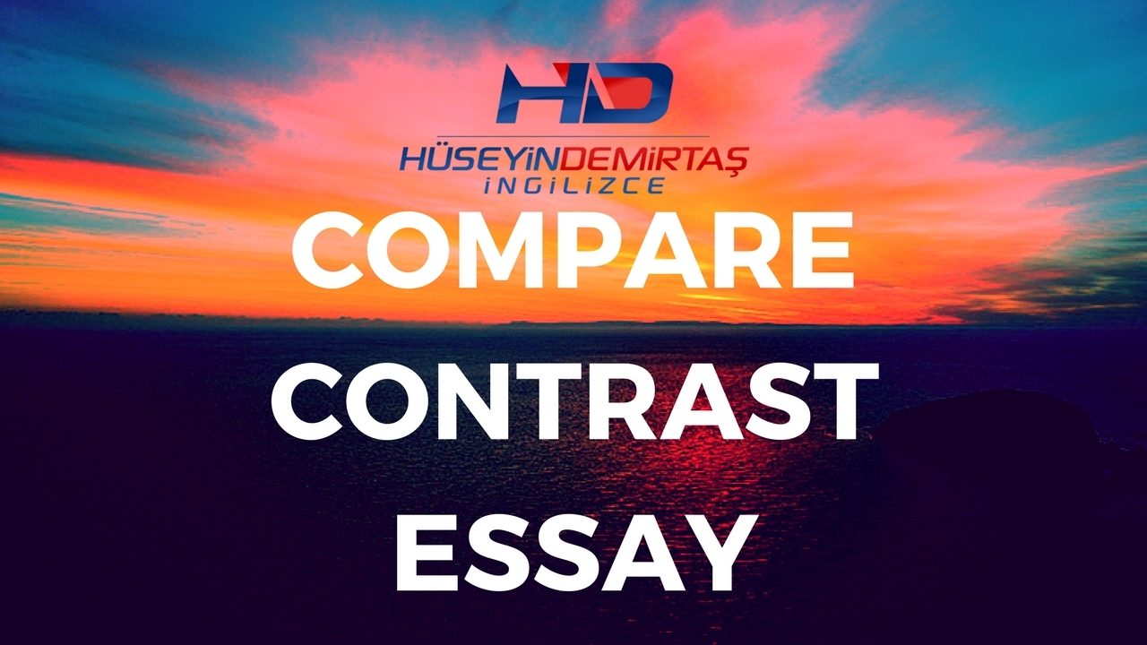 start compare contrast art essay