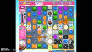 Candy Crush Level 1074 help w/audio tips, hints, tricks