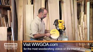 Selecting A Blade For A Sliding Miter Saw
