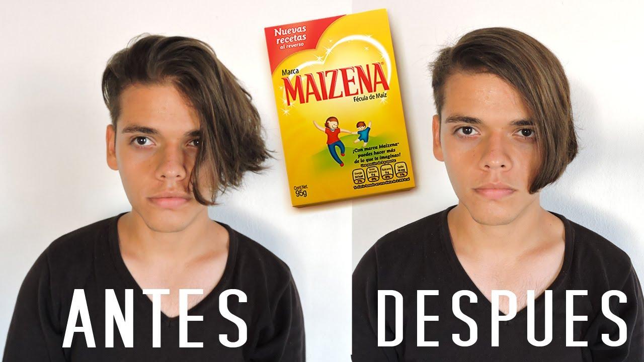 Alisar el cabello naturalmente hombres