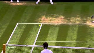 Roger Federer - Top 10 majestic serve and volley